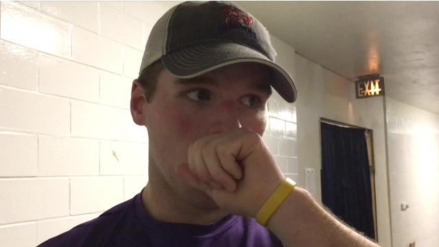 Video: Cameron Cook touts Mudbugs fans as league's best