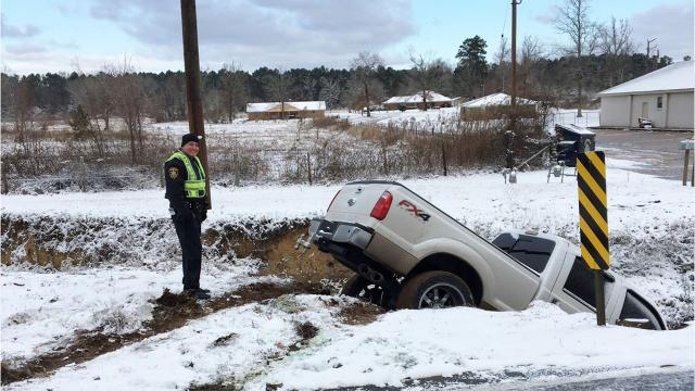 Bossier deputies had a busy Tuesday morning aiding motorists.