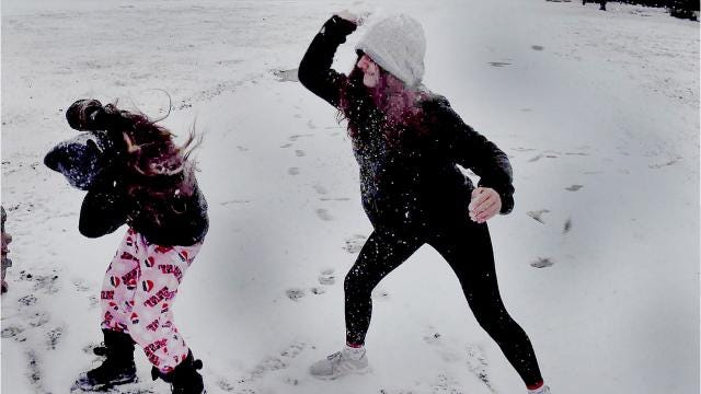 Snow in Prairie Laurent and all of St. Landry Parish