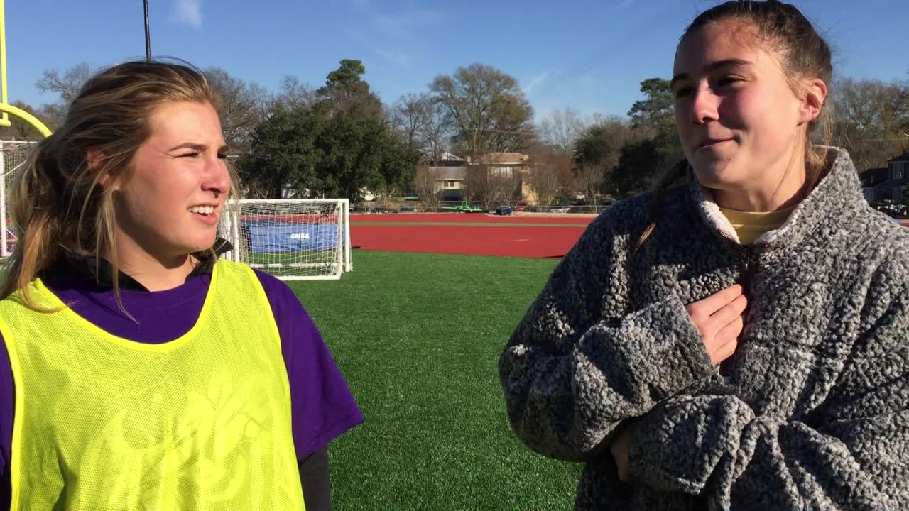Byrd's Eva Paul and Allie Cannon discuss favorite memory. Read the associated story.