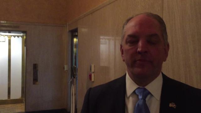 Gov. John Bel Edwards discusses 'doomsday budget'