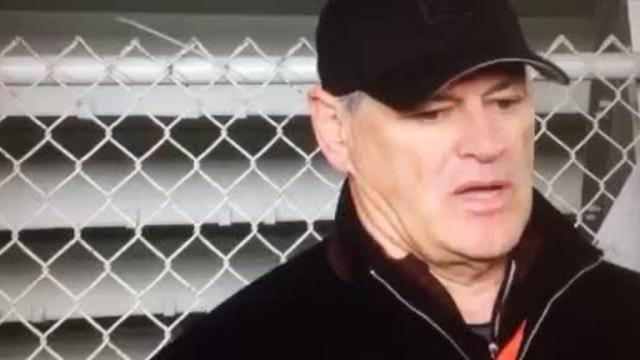 Saints' GM Mickey Loomis talks QBs at Senior Bowl