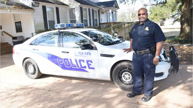LSU of Alexandria Chief Donald Collins talks about what the police do on the campus to help students and faculty.