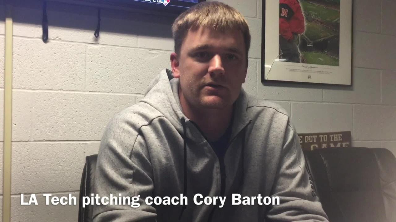 New Louisiana Tech pitching coach Cory Barton outlines his philosophy on how to shape his pitching staff.