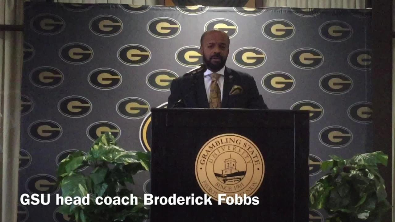 Grambling State head football coach Broderick Fobbs outlines his staff's approach to the 2018 recruiting cycle and the team's defensive back signees.