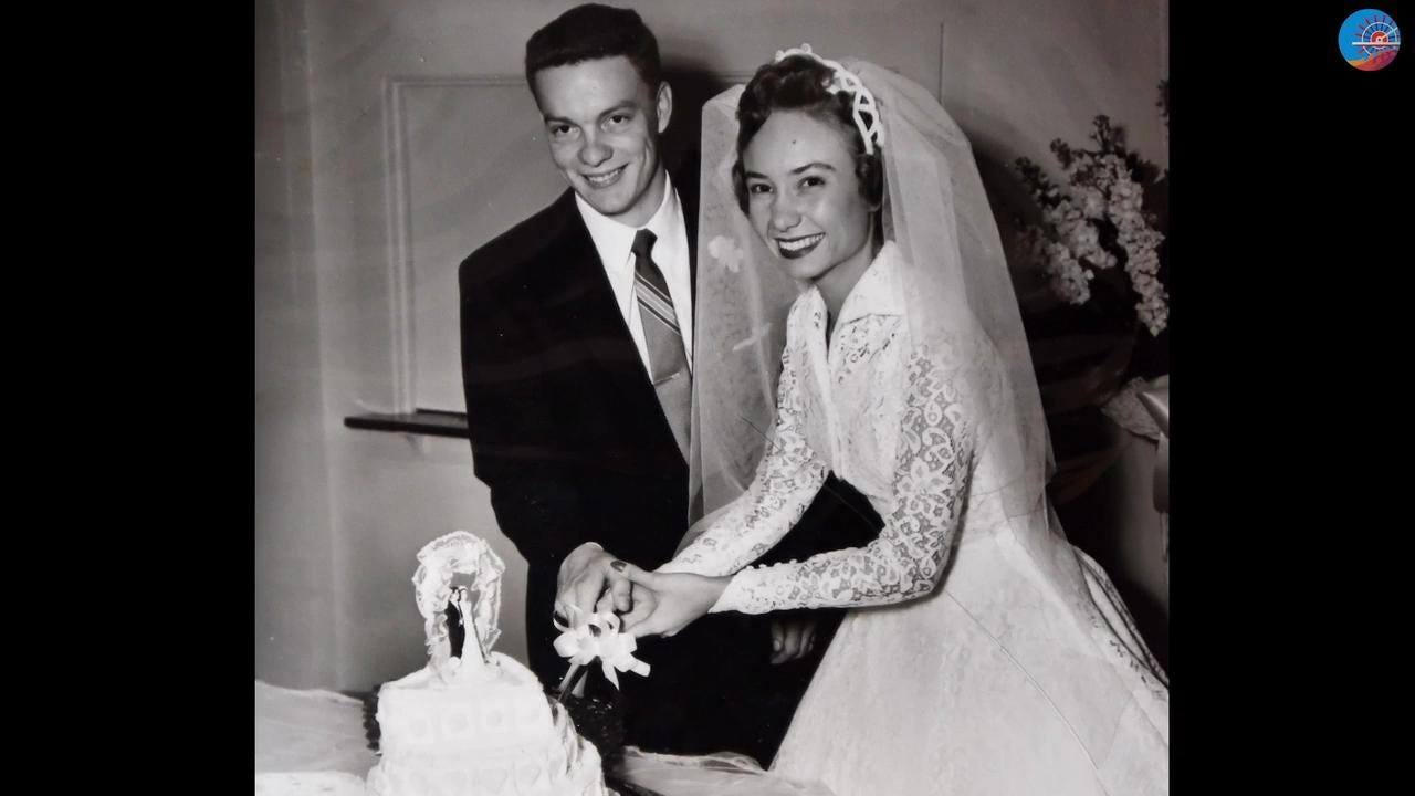 Grady and Delores Hooper will celebrate their 60th wedding anniversary on Valentine's Day.