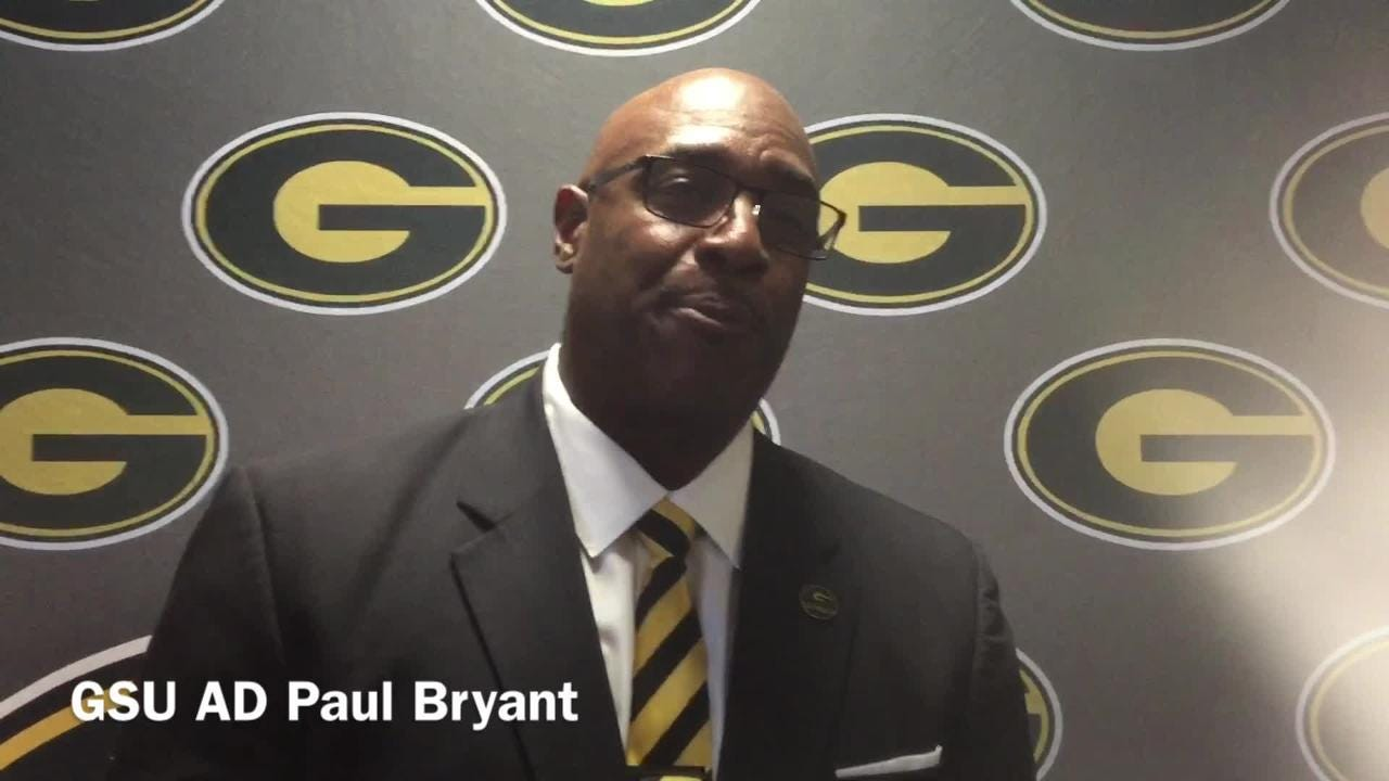 Grambling State Athletic Director Paul Bryant explains why it was important to find fourth home game for GSU football team in 2018.