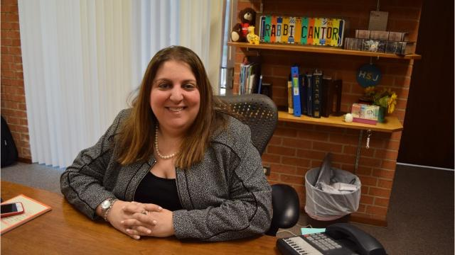 Rabbi and cantor Raina Siroty recently became rabbi of Congregation Gemiluth Chassodim, the Jewish temple located in Alexandria. The Los Angeles native has a bachelor's degree in voice performances from the University of California at Santa Barbara.