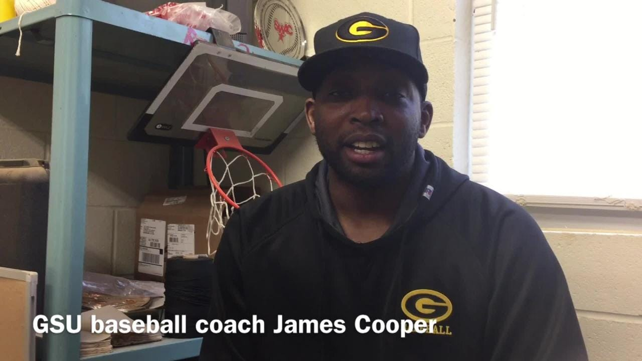Grambling State head baseball coach James Cooper explains why his team needs to meet rising expectations this season.