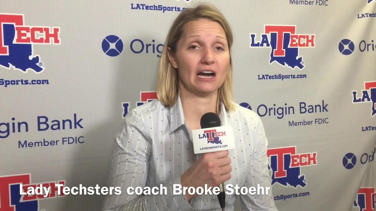 Louisiana Tech women's hoops coach Brooker Stoehr didn't think her team matched Charlotte's energy and effort in a loss at home Thursday night.
