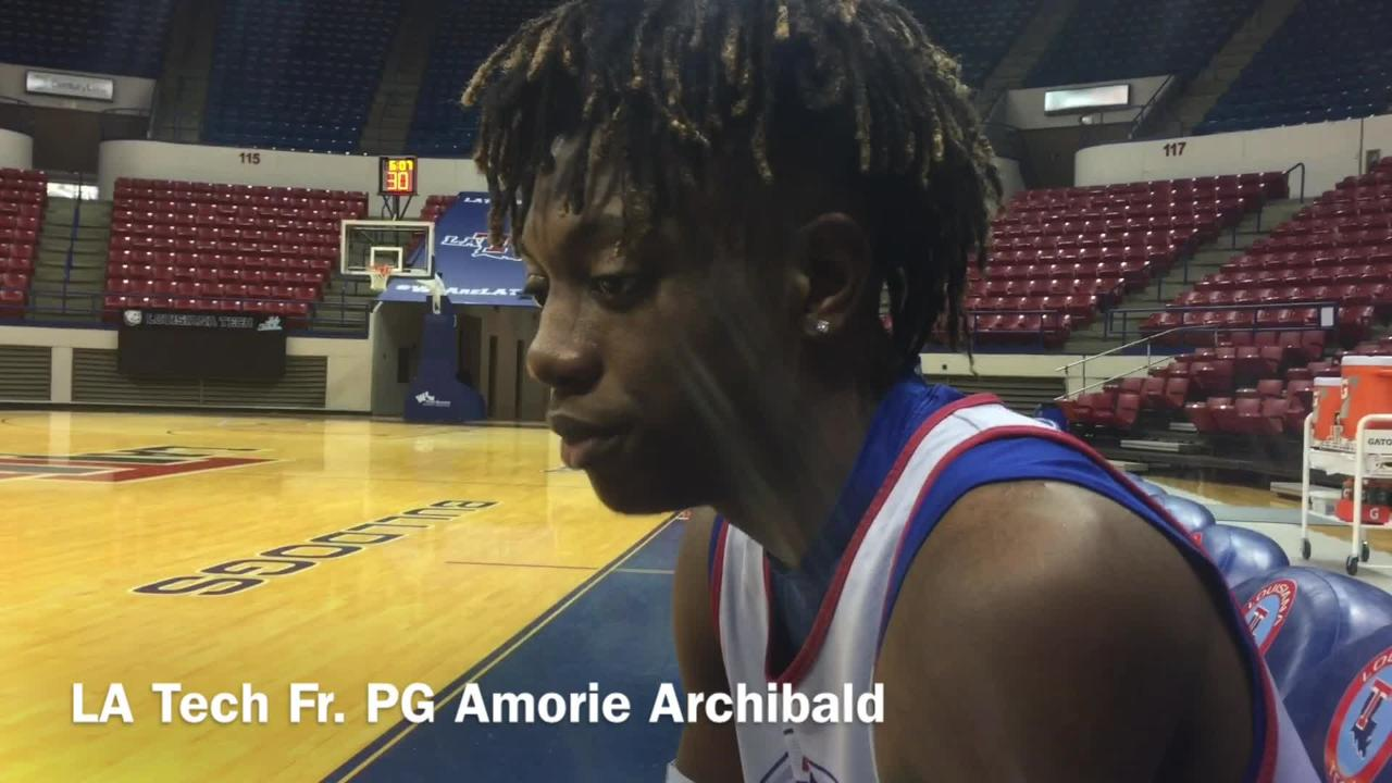 Louisiana Tech freshman point guard Amorie Archibald explains why always feeling like an underdog growing up has helped him.