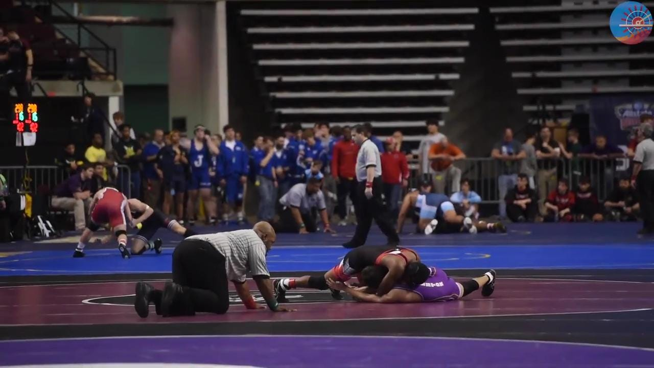 Highlights - State High School Wrestling Tournament