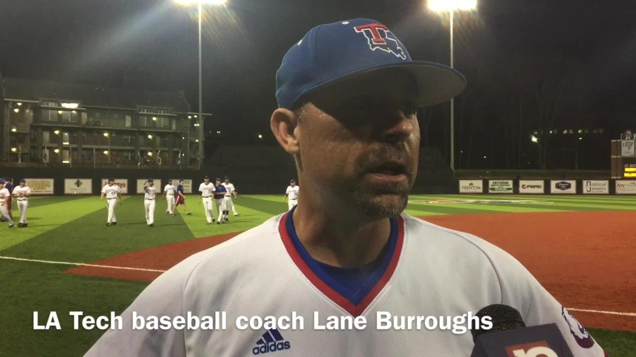 Burroughs breaks down Tech's big 2nd inning v. McNeese