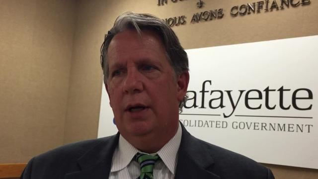 Lafayette Mayor-President Joel Robideaux answers questions about traffic cameras in school zones, Redflex, ATS and the alleged involvement of Mike Michot.
