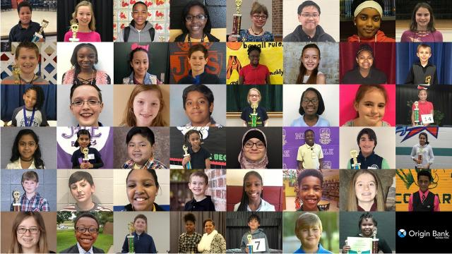 On March 2, 47 students will compete at the Origin Bank All-Parish Spelling Bee. The winner will go on to the Scripps National Spelling Bee. Do you know some of the school-level winners favorite words?