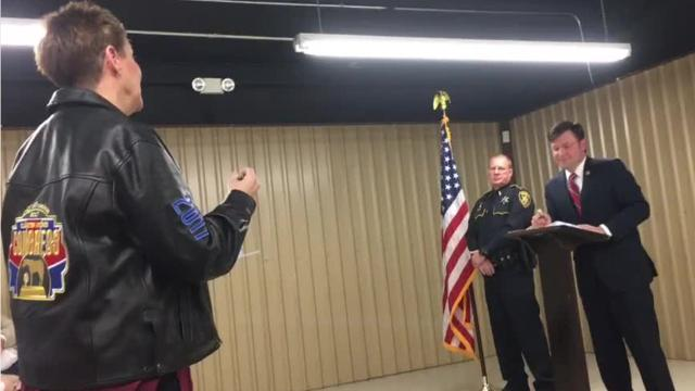 United States Rep. Mike Johnson heard from numerous residents on Thursday during a town hall meeting in Plain Dealing, where concerns from rodeo participants covered the bulk of the event's question-and-answer time.