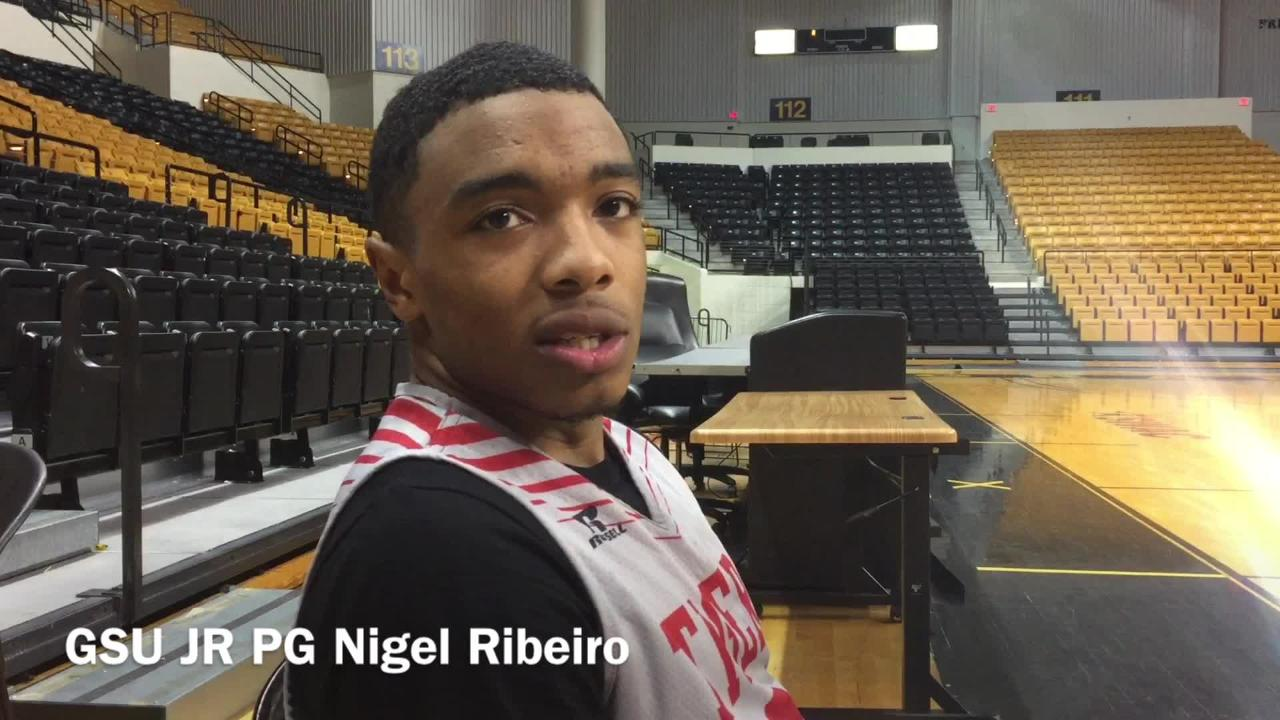 Grambling State junior point guard Nigel Ribeiro explains how the team learned how to and gotten used to winning.