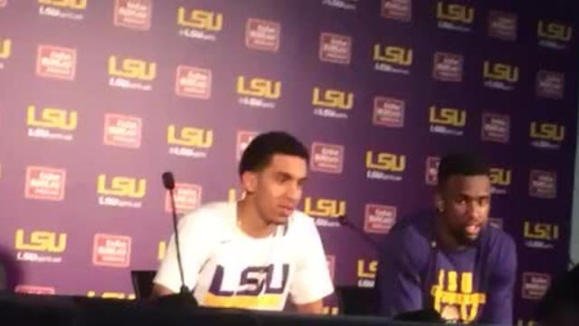 Watch Tremont Waters forget Aaron Epps' name