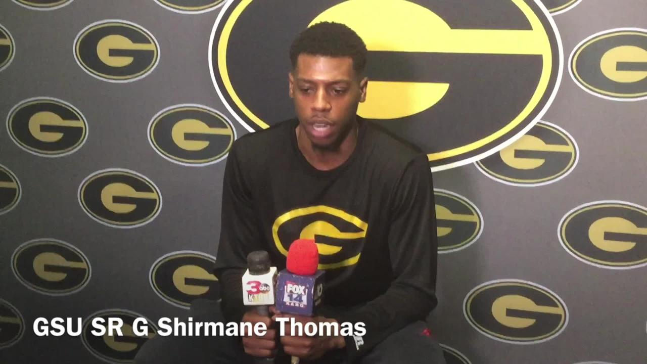 Grambling State senior guard Shirmane Thomas details how tiring it's been for team to endure opponents' best efforts the last few weeks.