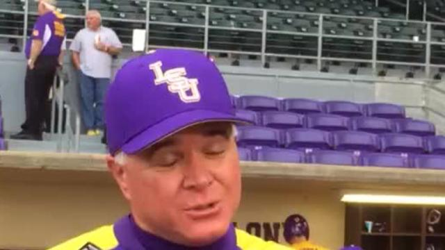 Saturday night victory hangover hits LSU Sunday in 11-1 loss to Texas