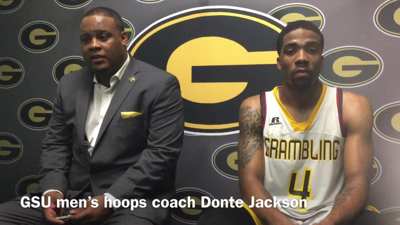 Grambling State men's hoops coach Donte Jackson says his team has to get tougher, but there is still goals it can accomplish amid two-game skid.