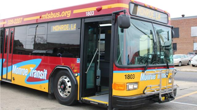 Five new Monroe Transit buses hit the road on Wednesday.