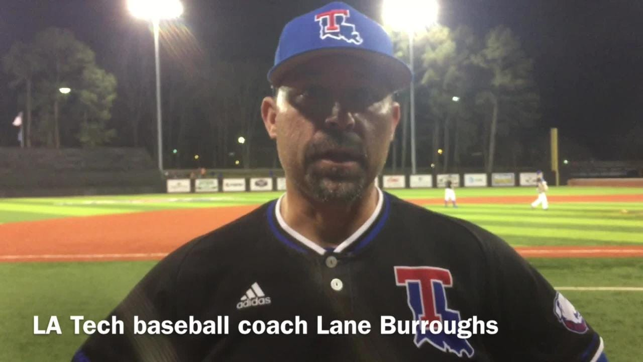 Louisiana Tech baseball coach Lane Burroughs details his offense's struggling at the plate with runners in scoring position.
