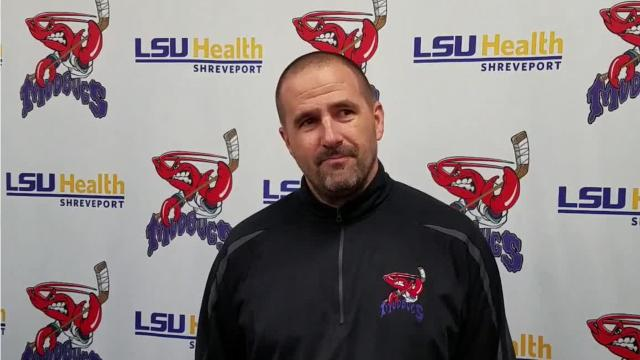 Jason Campbell saw plenty of fisticuffs during his time with Shreveport in the WPHL and CHL. Now an assistant coach for the Mudbugs, Campbell had a front-row seat to Saturday's melee vs. Kenai River.