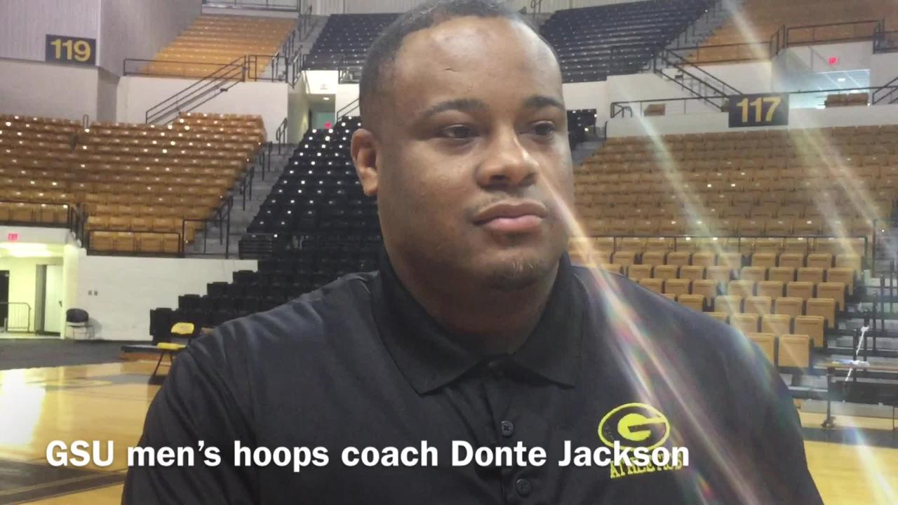 Grambling State men's hoops coach Donte Jackson dispelled the plan for this first year with the Tigers.