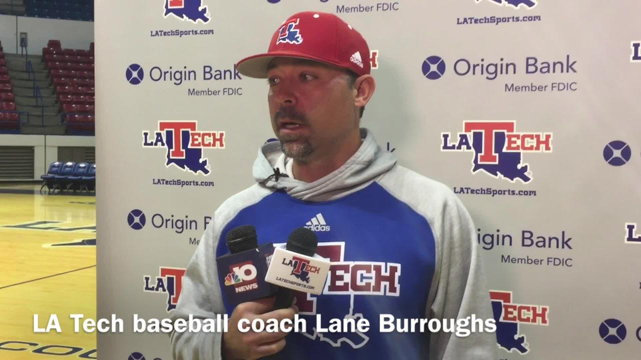 Louisiana Tech baseball coach Lane Burroughs shares his belief of his team's potential after beating Texas A&M and Cal this weekend.