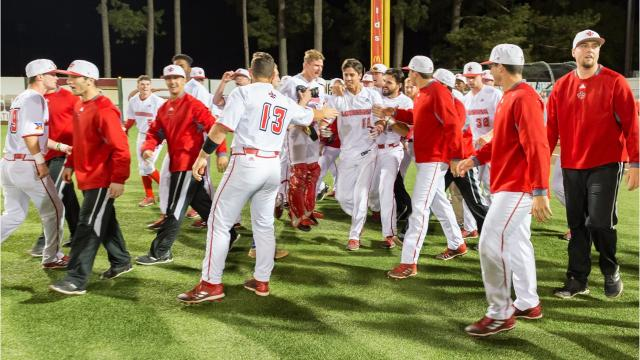UL beat LSU 4-3 in 10 innings behind Jonathan Windham's bases-loaded single at The Tigue.
