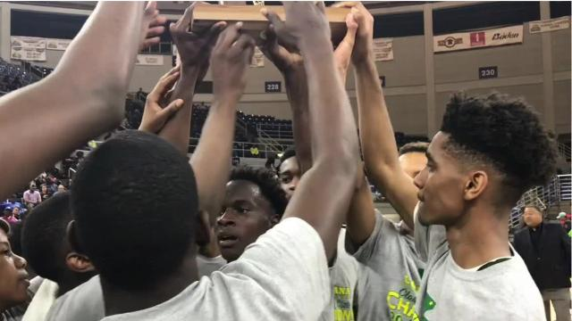 Rayville blew out North Caddo 79-51 in Saturday's Class 2A state championship game at Burton Coliseum in Lake Charles.
