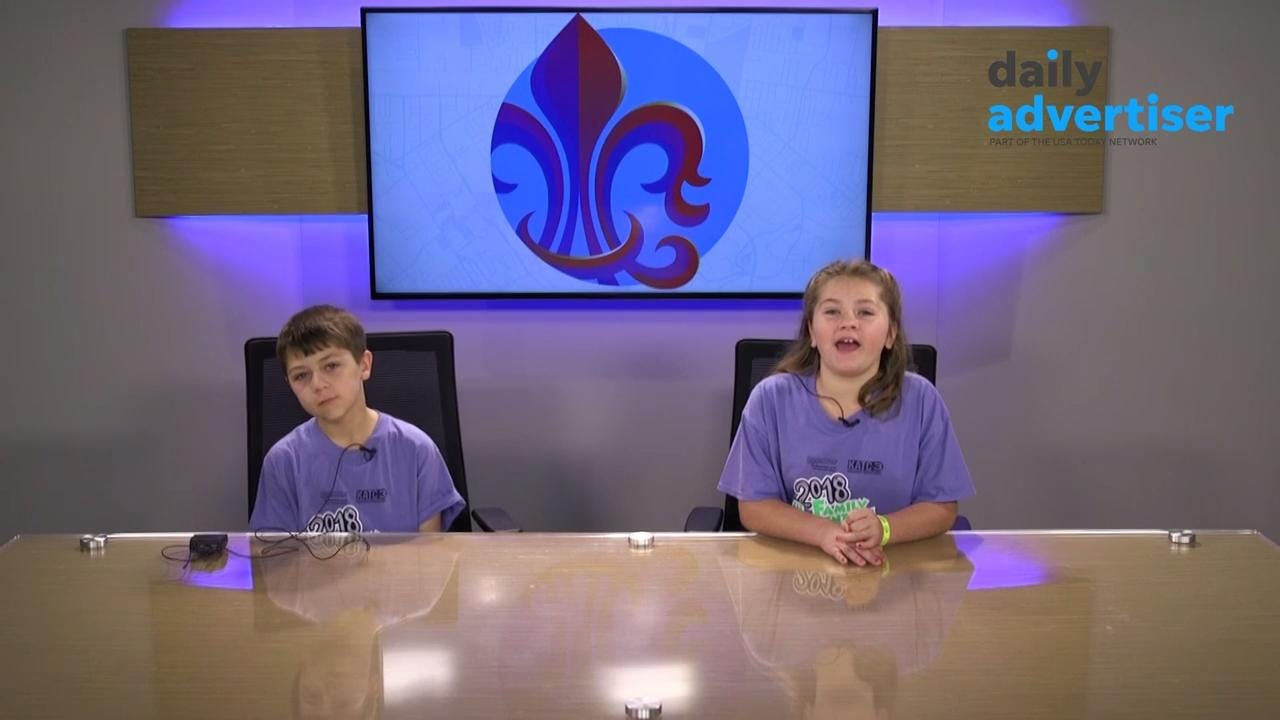 Saturday, The Daily Advertiser opened its Digital Studio for kids and their parents for Family Adventure Day which benefits The Healing House. Everyone got a chance to try reading from the teleprompter.  Tags