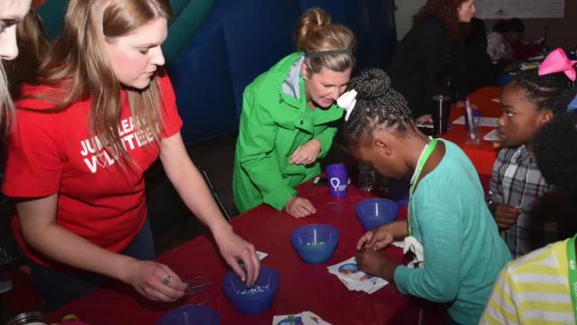 The Junior League of Alexandria held their annual CenLa KidzFest Saturday.KidzFest is the league's community impact program that helps educate children about fitness, nutrition and cyber safety.