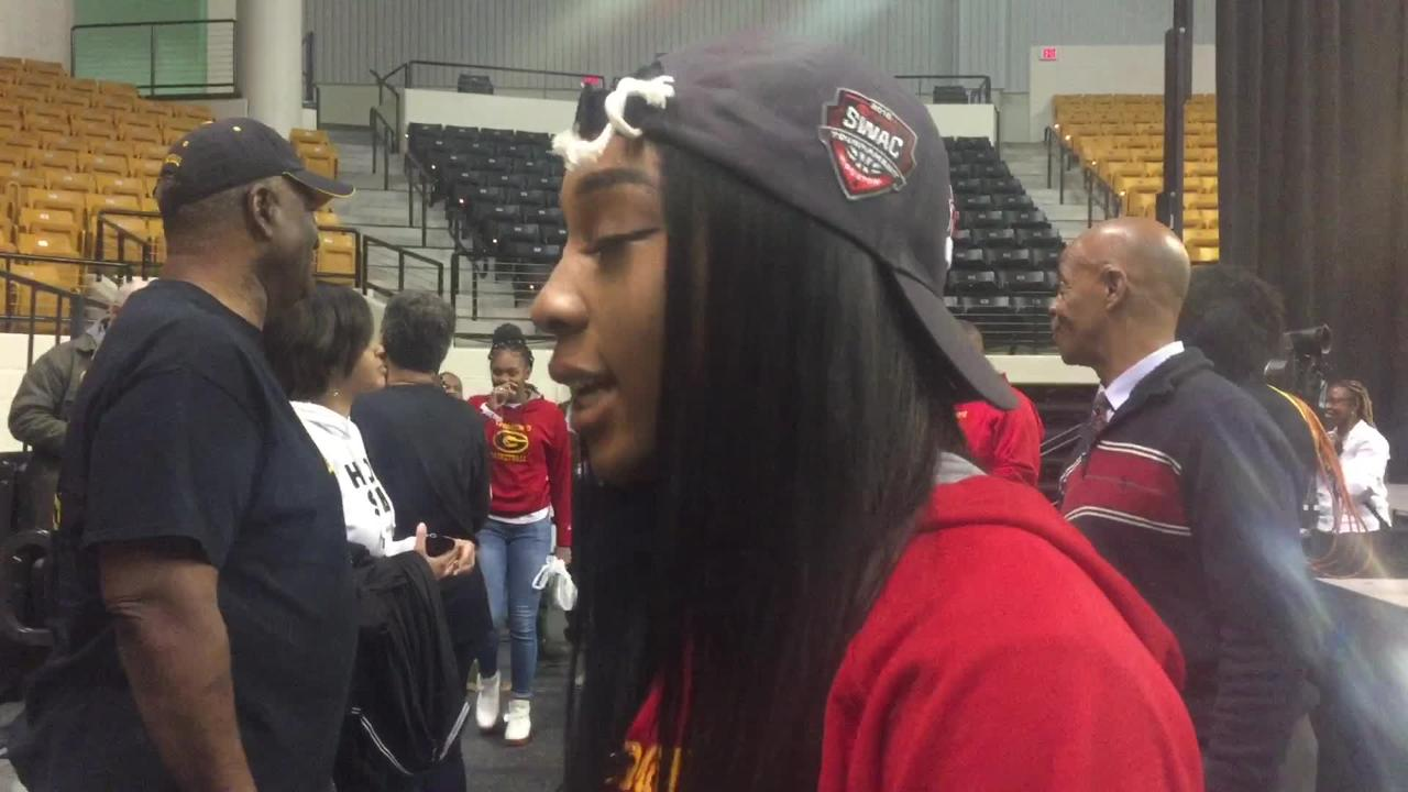 Grambling State junior point guard Shakyla Hill breaks down showdown with Baylor in the NCAA Tournament first round.