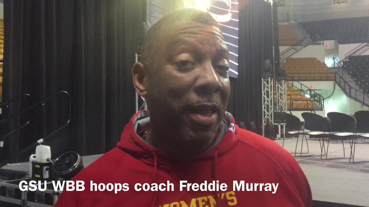 Grambling State women's hoops coach Freddie Murray deciphers what it means for his team that it received a 15 seed in the NCAA tournament.