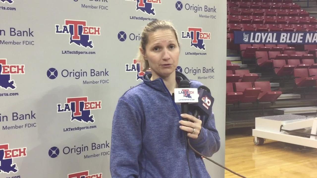 Lady Techster hoops coach Brooke Stoehr believes her team learned a lot from last year's overtime loss at SMU in first round of Women's NIT tournament.