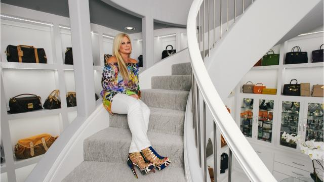 Theresa Roemer's closet is 3,000 square feet big - but it gives back more than you could imagine. Here's a look inside her space.