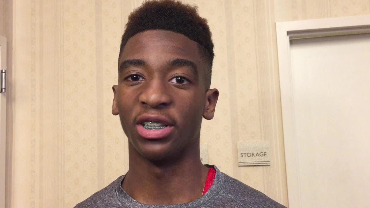 Benton's Jalen Harding talks about playing in All-Star game