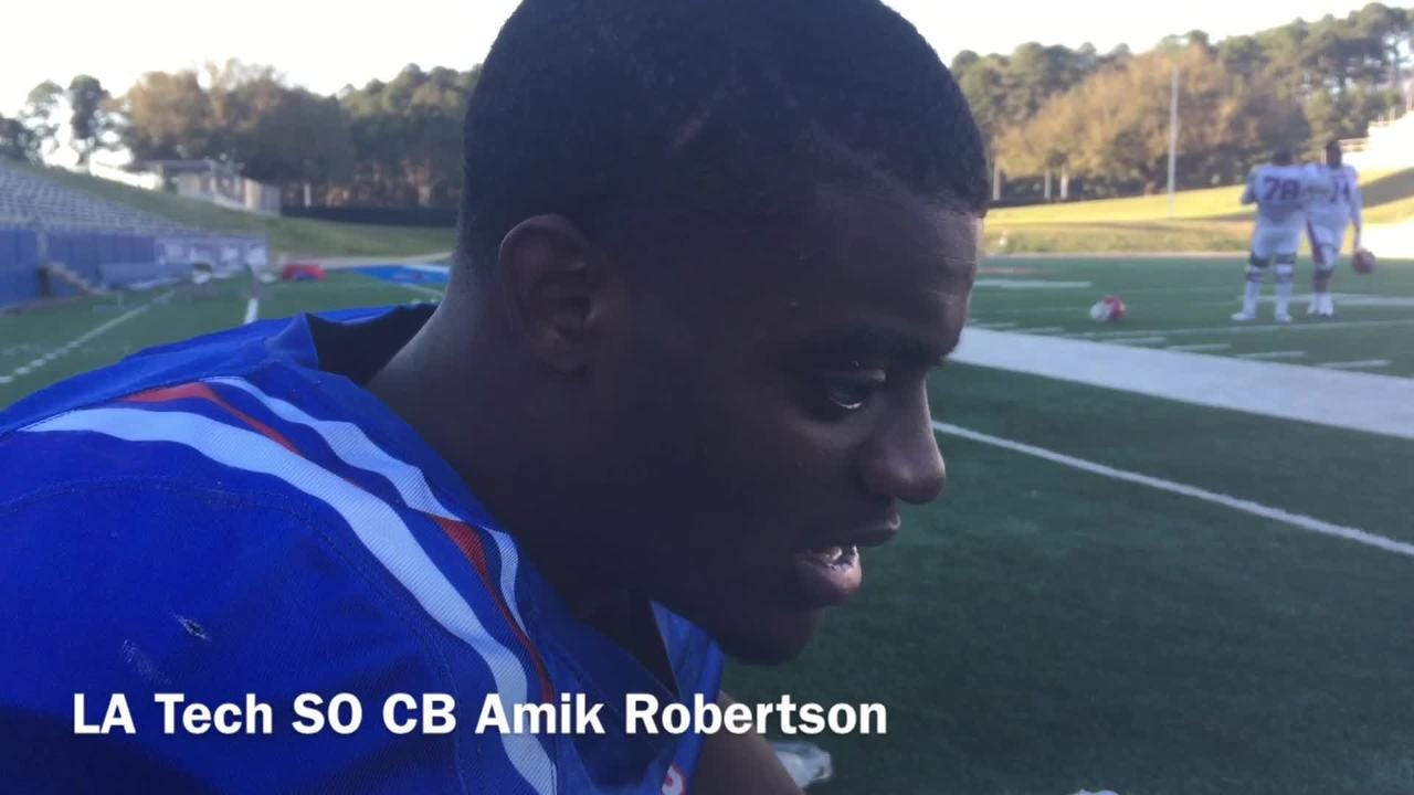 Louisiana Tech cornerback Amik Robertson shares how the birth of his son changed his life and mentality.
