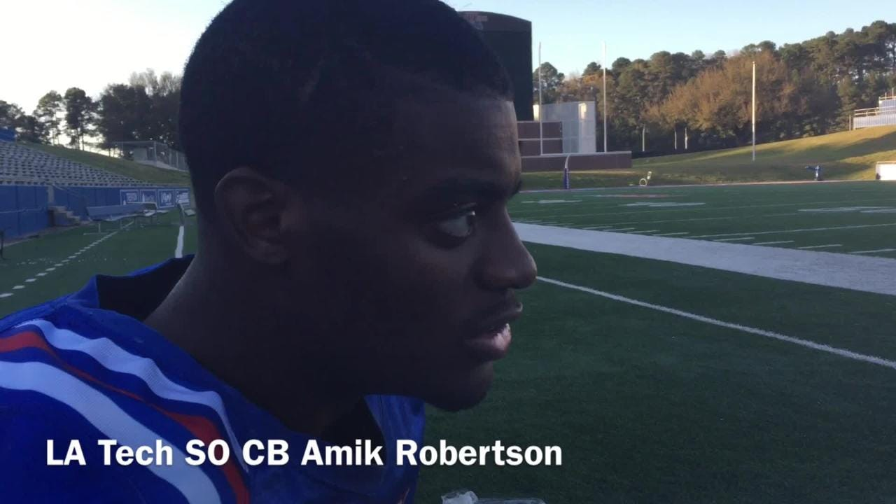 Robertson explains what he brings to the LA Tech's defense