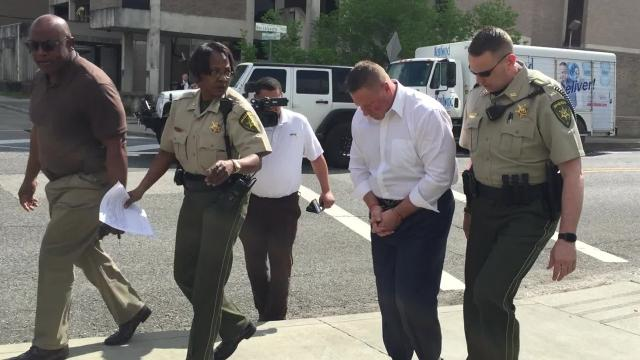 This is an abbreviated timeline of how Brian Pope went from victorious candidate for Lafayette City Marshal in 2014 to being escorted to jail in handcuffs and facing seven felony charges by 2018.