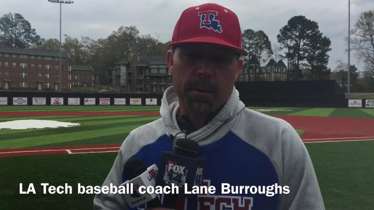 Louisiana Tech baseball coach Lane Burroughs discusses what a season sweep over ULM would mean for his team.