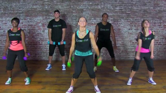 Moriah Istre unveils her new ZydeFit exercise DVD March 24 at the Robicheaux Center in Lafayette, La.