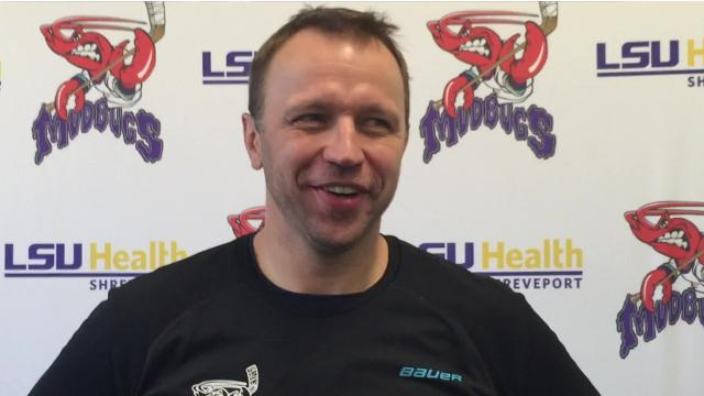 Shreveport Mudbugs head coach Karlis Zirnis has an idea of what he'd like to do when his team clinches a division championship, but he's won't tell.