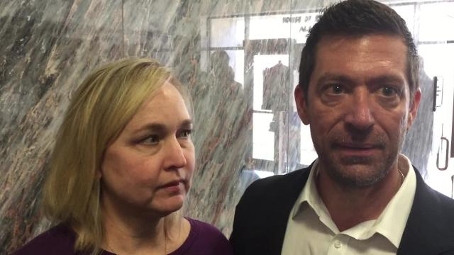 Rae Ann and Steve Gruver said a bill that would make hazing a felony would be a deterrent to the practice. Their son Max Gruver died following a fraternity hazing last fall at LSU.