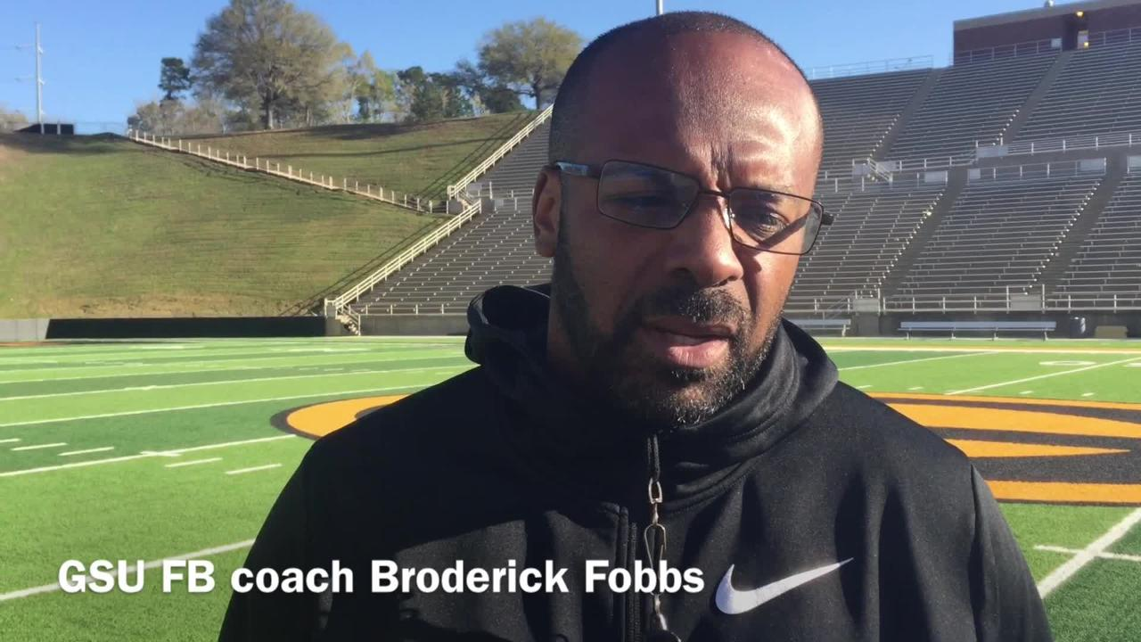 Grambling State head football coach Broderick Fobbs explains his decisions in the offseason changes he made to his coaching staff.