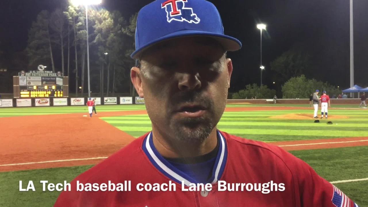 Louisiana Tech baseball coach Lane Burroughs details how his team can keep its hot streak going heading into Birmingham this weekend.