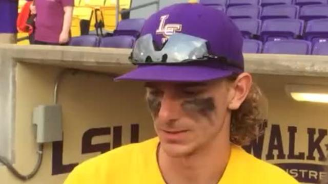 Zach Watson has been carrying LSU baseball team