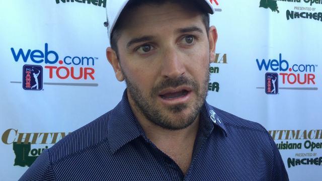 First-round Louisiana Open leader Julian Etulain from Argentina